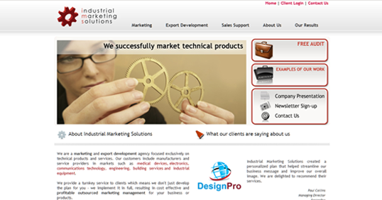 Industrial Marketing Solutions